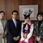 札幌市長へ表敬訪問